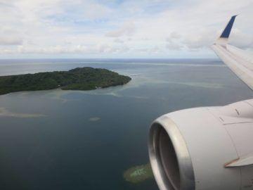 united island hopper landeanflug pohnpei 3