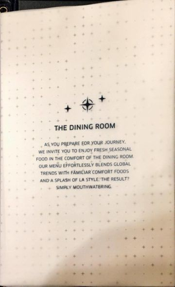 united polaris lounge los angeles dining room menu 3