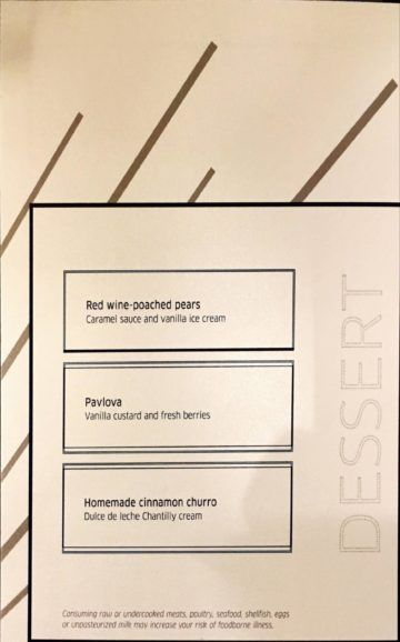 united polaris lounge los angeles dining room menu 6 1