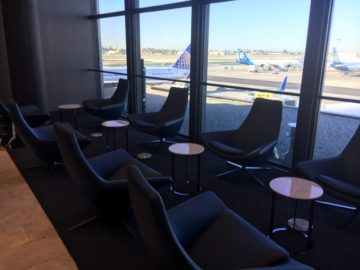 united polaris lounge los angeles fensterplaetze 1