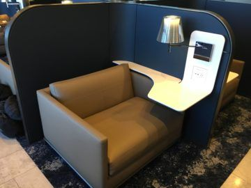 united polaris lounge los angeles kabine 4