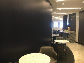 united polaris lounge los angeles rotunda sitze 1