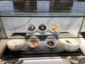 united polaris lounge newark nyc joghurt