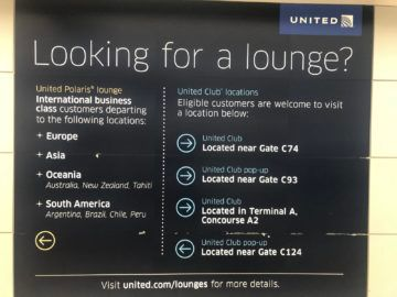 united polaris lounge newark nyc loungefinder