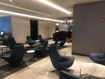 united polaris lounge newark nyc sessel eingang