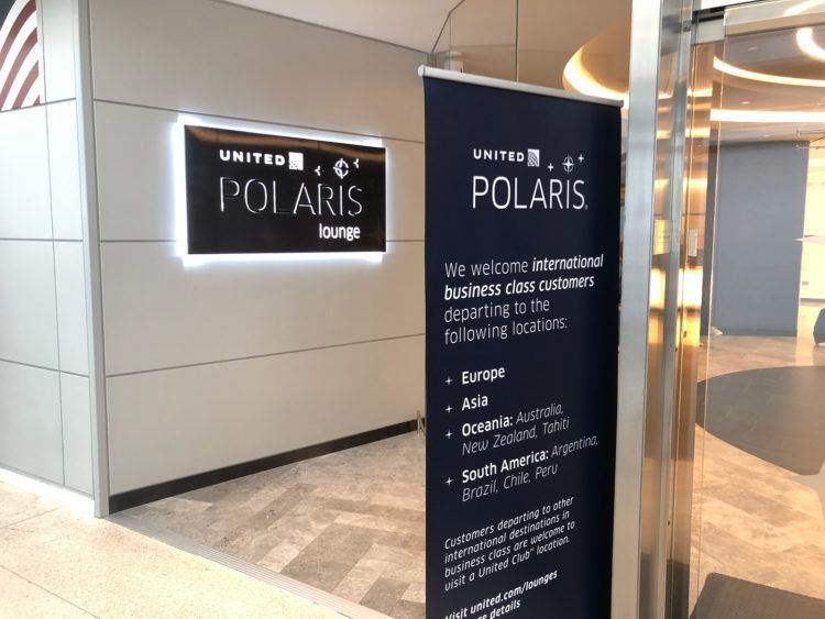 United Polaris Lounge Newark/NYC United Polaris