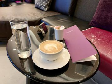 virgin atlantic clubhouse newark kaffee