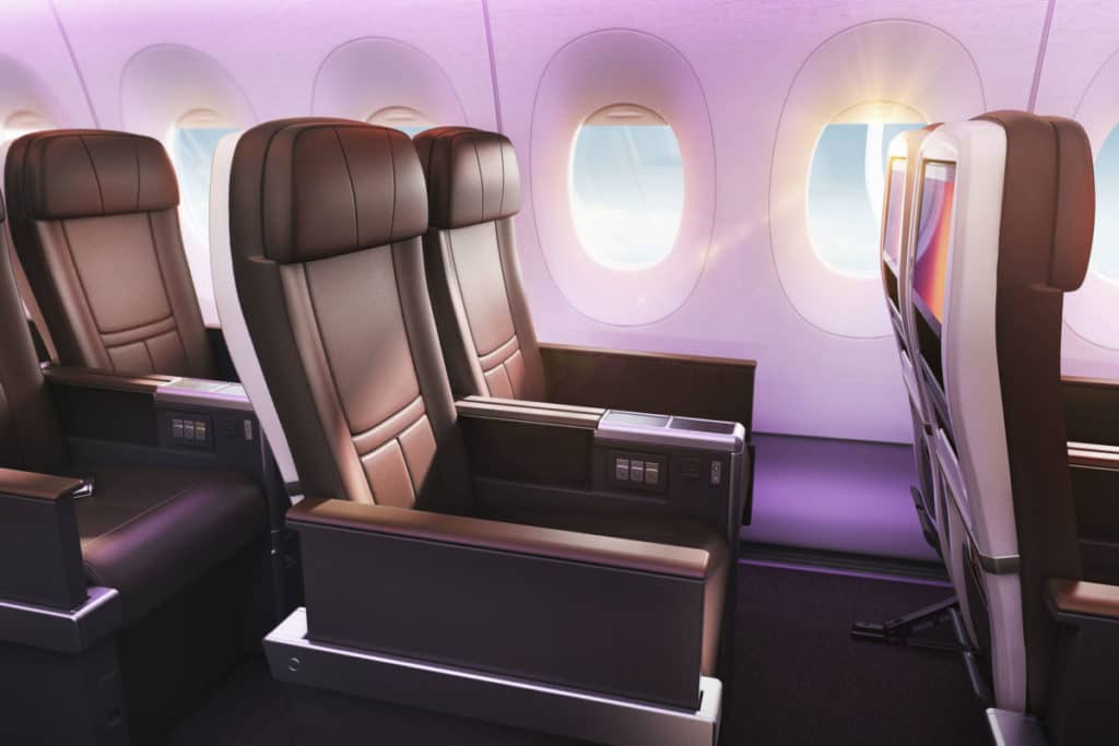 Virgin Atlantic Premium Economy &copy Virgin Atlantic