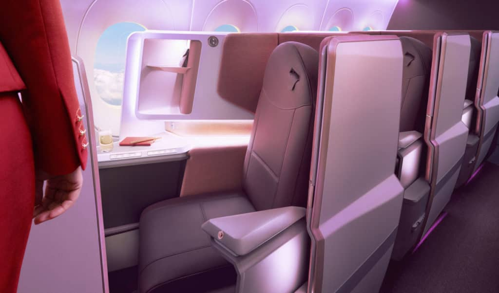 Virgin Atlantic Upper Class Sitz im A350-1000 &copy Virgin Atlantic