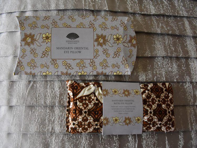 Mandarin Oriental Kuala Lumpur Willkommensgeschenk