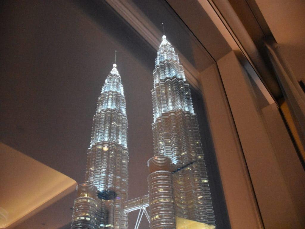 W Kuala Lumpur Zimmerblick