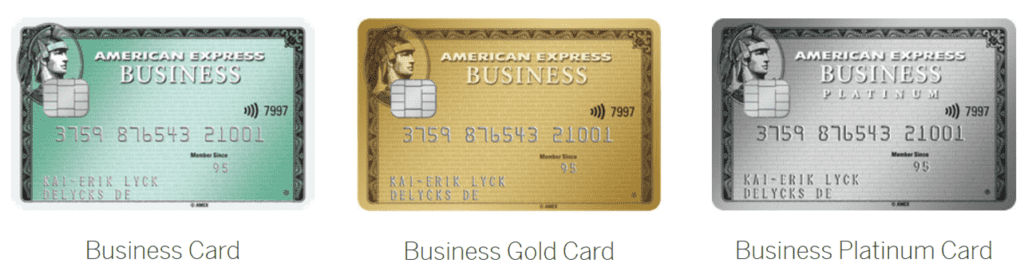 Die American Express Business Kreditkarten